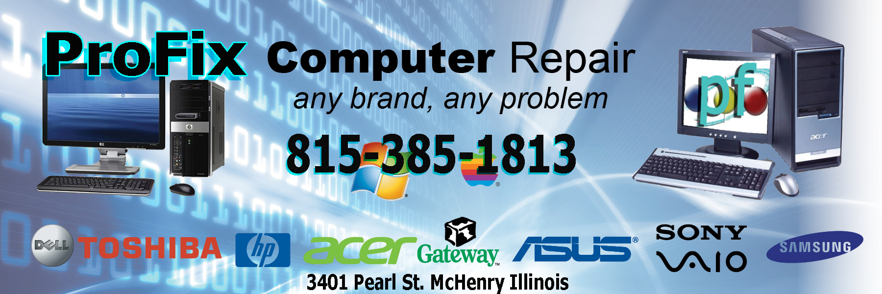 McHenry Il computer Repair and Virus Removal.